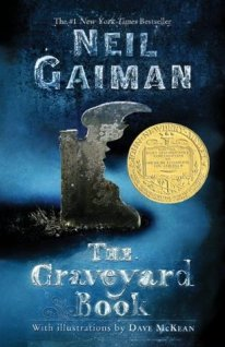 book cover image of The Graveyard Book